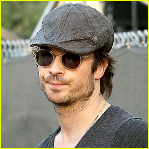 Ian Somerhalder Gets Hot at Coachella 2014!