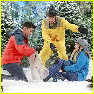 Olivia Holt is Having Big Snow Issues on 'I Didn't Do It' This Weekend