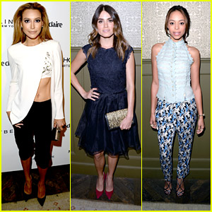 Naya Rivera Celebrates Marie Claire's May Cover Stars with Nikki Reed & Troian Bellisario