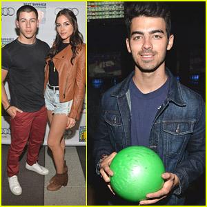 Nick & Joe Jonas: Bowling With Best Buddies!