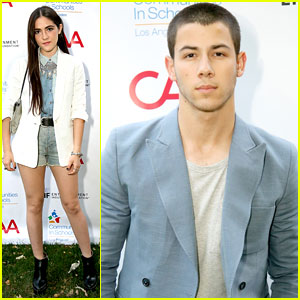 Nick Jonas Wears a Baby Blue Blazer Better Than Anyone Else Ever