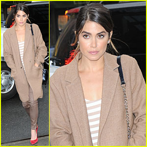 Nikki Reed is Photo Shoot Fresh in NYC!