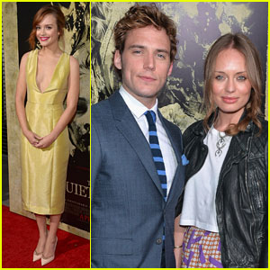 Sam Claflin & Olivia Cooke Bring 'The Quiet Ones' to Los Angeles