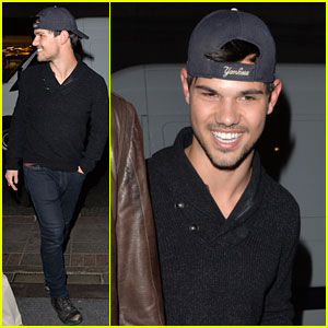 Taylor Lautner is 'Very Happy' with Girlfriend Marie Avgeropoulos