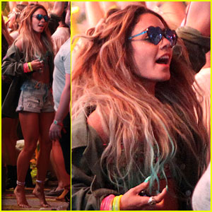 Vanessa Hudgens Dances it Out at Coachella!