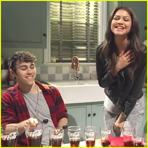Zendaya & Max Schneider Have an 'Ahh' Moment with Double Coca-Cola Music Videos