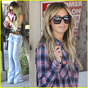 Vanessa Hudgens & Ashley Tisdale Make It A Girl's Day Out at the Salon