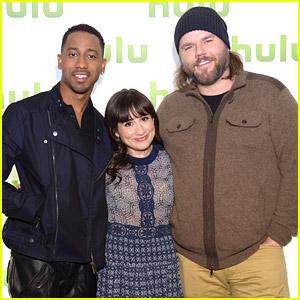 Brandon T. Jackson Promotes 'Deadbeat' at Hulu Upfronts