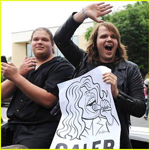 American Idol's Caleb Johnson Visits Hometown Asheville, N.C.!