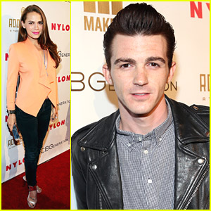 Drake Bell & Bethany Joy Lenz Hit Up Nylon's Young Hollywood Party