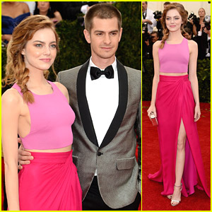 Emma Stone & Andrew Garfield Are An 'Amazing' Couple at MET Gala 2014