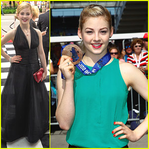Gracie Gold Attends Indy 500 Snakepit Ball