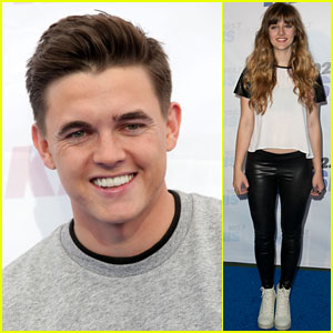 Jesse McCartney & Aubrey Peeples Flash Smiles at Wango Tango 2014!