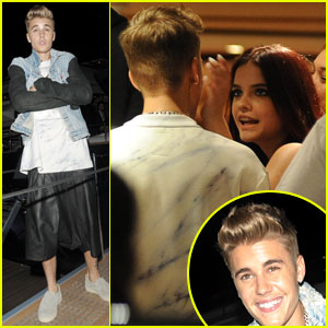 Justin Bieber Catches Up with Old Flame Barbara Palvin at Cannes Party!