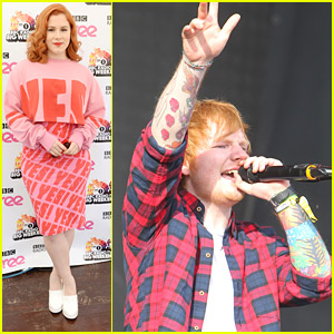 Ed Sheeran & Katy B Play BBC Radio 1's Big Weekend