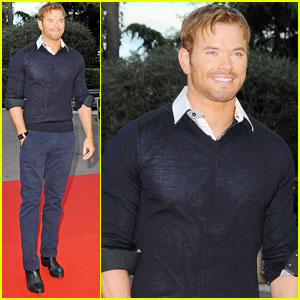 Kellan Lutz Keeps it Handsome at World Music Awards 2014!