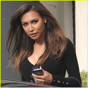 Naya Rivera Gets Glammed Up After Getting School