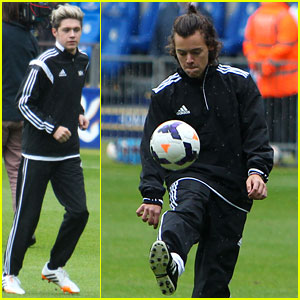 One Direction Shows Off Major Skills in Charity Soccer Game for Irish Autism Action!