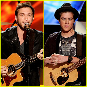 Sam Woolf Sings 'Raging Fire' with Phillip Phillips on 'Idol' Finale - Watch Now!