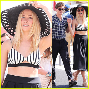 Pixie Lott Heads To Cannes For Video Shoot!