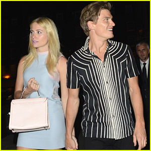 Pixie Lott & Oliver Cheshire: Prada After Party Pair