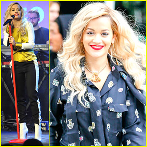 Rita Ora Confesses That She's 'The Manly-Ish Girl On The Planet'