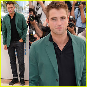 Robert Pattinson is Smoldering Hot at 'The Rover' Cannes Photo Call!