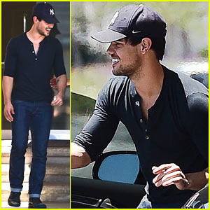 Taylor Lautner is Does All His Own Stunts for 'Cuckoo'!