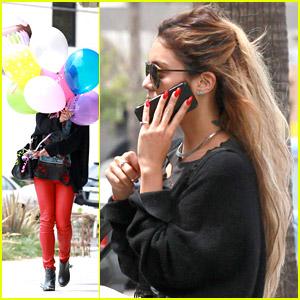 Vanessa Hudgens: Balloons, Balloons, Balloons!