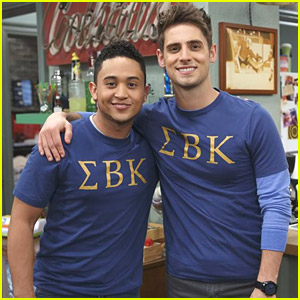 Tahj Mowry & Jean-Luc Bilodeau Head Back To College on 'Baby Daddy' Tonight