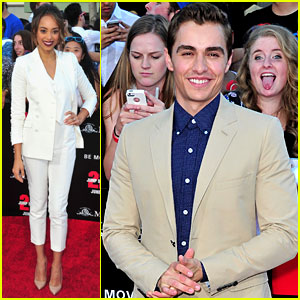 Dave Franco & Amber Stevens Premiere '22 Jump Street' in Los Angeles!