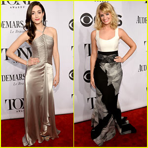 Emmy Rossum is a Broadway Beauty at Tony Awards 2014!