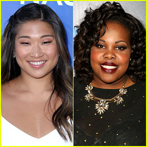 Jenna Ushkowitz & Amber Riley Join 'Hair' at Hollywood Bowl!