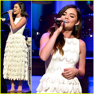 Lucy Hale Performs at the Opry for First Time!