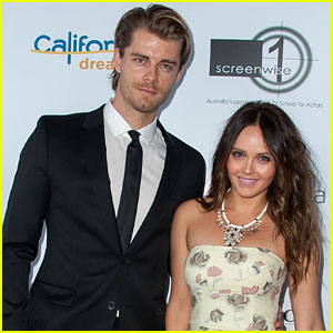 Luke Mitchell & Rebecca Breeds Show Aussie Pride at Heath Ledger Scholarship Dinner