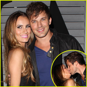 Matt Lanter & Angela Stacy Pack on the PDA at Maxim's Hot 100 Event!