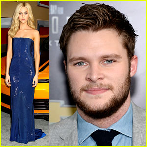 Nicola Peltz & Jack Reynor Take 'Transformers' to New York!