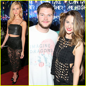 Nicola Peltz & Jack Reynor Catch Imagine Dragons Performance at 'Transformers 4' After Party!
