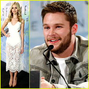 Transformers' Nicola Peltz & Jack Reynor Meet the Press in Berlin