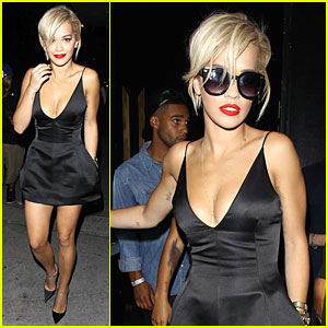 Rita Ora Looks Super Sexy After Calvin Harris Split!