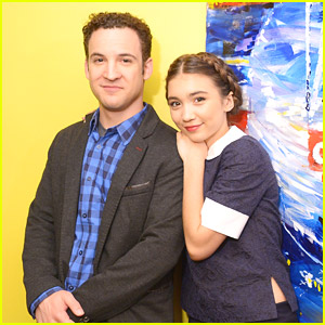 Girl & Boy Meet Fox & Friends; Rowan Blanchard & Ben Savage Promote 'Girl Meets World' in NYC