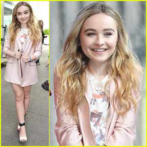 Sabrina Carpenter Performs on 'Fox & Friends' Ahead of 'Girl Meets World' Premiere