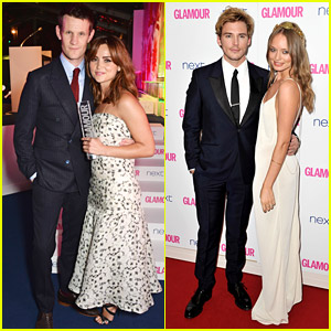 Sam Claflin Talks Getting Red Carpet Ready with Wife Laura Haddock & Makes Us Melt