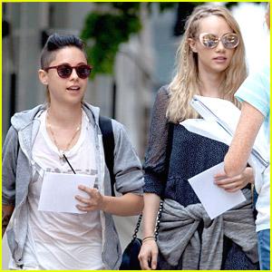 Suki Waterhouse & Rosa Salazar Head To 'Insurgent' Set