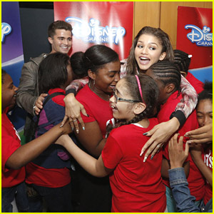 Zendaya & Spencer Boldman: Surprise 'Zapped' Screening!