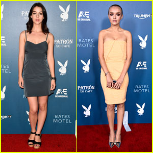 Adelaide Kane & Olivia Cooke Stun at 'Bates Motel' Comic-Con Party!