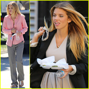 AnnaLynne McCord Makes a Starbucks Run in Between 'Photographs' Filming