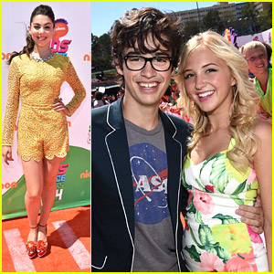Audrey Whitby & Joey Bragg Keep Up The Cuteness at Kids' Choice Sports Awards 2014