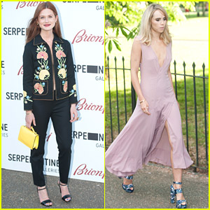 Bonnie Wright & Suki Waterhouse Celebrate Summer with Serpentine Gallery