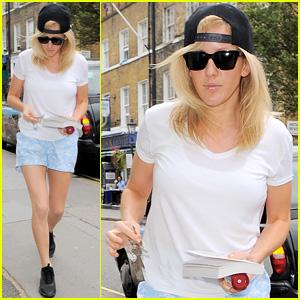 Ellie Goulding 'Thinks Fast & Slow' in London